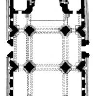 Кафедральный собор в Ани. 989-1001 гг. План