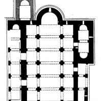 Болнисский сион. 478-493 гг. План