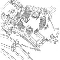 Ансамбль Московского Кремля. Центральная часть. Реконструкция