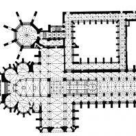 Собор Вестминстерского аббатства в Лондоне. План