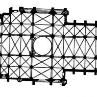 Собор в Леоне. Начало 13 века - 1303 г. План