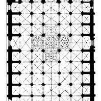 Собор в Севилье. Завершен в начале 16 века. План