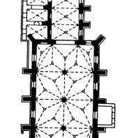 Собор в Вислице. 1346-1350 гг. План