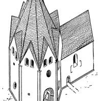 Церковь св. Духа в Висби. Реконструкция