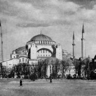 Храм св. Софии в Константинополе. 532-537 гг. Общий вид с юга