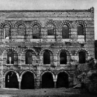 Императорский дворец (Текфур-серай) в Константинополе. 12 век; по другим данным - 13-14 вв.