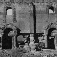 Ереруйкская базилика. 5 век. Южная стена