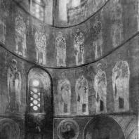 Церковь Спаса Нередицы близ Новгорода.Роспись абсиды. 1199 г.