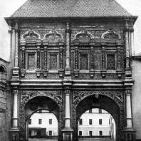 Крутицкий теремок в Москве. 1694 г.