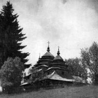 Церковь в селе Тухолька. 18 в. Общий вид