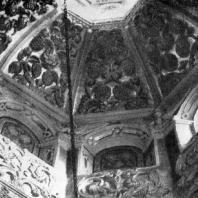 Часовня Трех святителей во Львове. 1578 г. Фрагмент купола