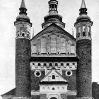 Благовещенская церковь в Супрасле. 1509-1510. Вид с запада