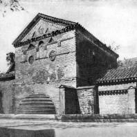 Баптистерий Сен Жан в Пуатье. Конец 7 века