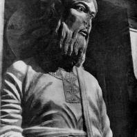 Апостол. Статуя с западного фасада церкви аббатства Сен Жиль. Фрагмент. 1160-1170 гг.