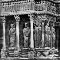 Церковь Сен Трофим в Арле. Конец 12 в. Фрагмент портала