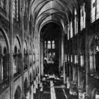 Собор Парижской Богоматери. Внутренний вид