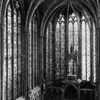 Сент Шапель в Париже. 1243-1248 гг. Внутренний вид