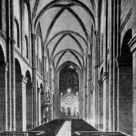 Собор в Вормсе. Внутренний вид