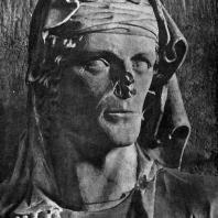 Елизавета. Статуя собора в Бамберге. Фрагмент