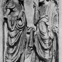 Пророки. Рельеф собора в Бамберге. 1230-1240 гг.