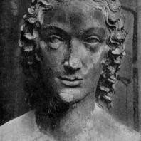Ева. Статуя собора в Бамберге. Фрагмент. Портал «Врата Адама». Около 1230-1240 гг.
