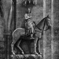 Всадник. Статуя собора в Бамберге. Около 1230-1240 гг.