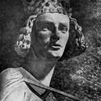 Всадник. Статуя собора в Бамберге. Фрагмент