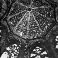 Собор во Фрейбурге. Внутренний вид башенного шатра. 1320-1350 гг.