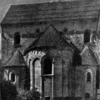 Собор в Гурке. 1170-1218 гг. Восточный фасад