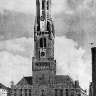 Торговые ряды в Брюгге. 1283-1364 гг. Главный фасад
