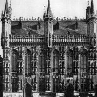 Ратуша в Брюгге. 1376-1421 гг. Фасад
