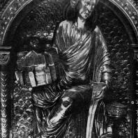 Реликварий Трех святых королей в Кельнском соборе. Фрагмент. Около 1200 г.