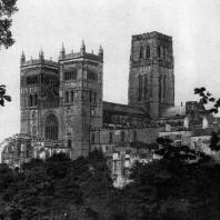 Собор в Дерхеме. 1096-1133 гг. Общий вид с юго-запада