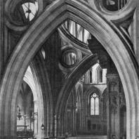 Собор в Уэлсе. Арки средокрестия. 1338 г.