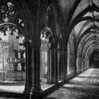 Монастырь Санта Мария в Алькобасе. Клуатр. Начало 14 века