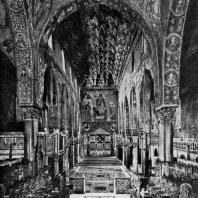 Палатинская капелла в Палермо. 1129-1143 гг. Внутренний вид