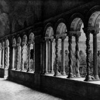 Базилика Сан Паоло фуори ле мура в Риме. Галлерея клуатра. 12 век