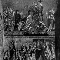Сошествие во ад. Неверие Фомы. Мозаики собора св. Марка в Венеции. 12-13 вв.