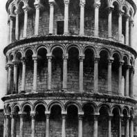 Кампанила собора в Пизе. Фрагмент