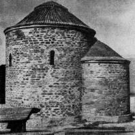 Ротонда св. Екатерины в Зноймо. 11 век. Вид с юго-востока