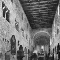 Храм св. Иржи в Праге. 1143-1151 гг. Внутренний вид