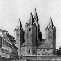 Церковь Марии в Калунборге. Конец 12 века. Общий вид с востока