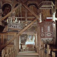 Церковь в Урнесе (Urnes stavkyrkje). Около 1090 г.