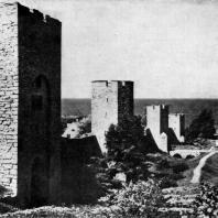 Городская стена в Висби. Конец 13 века