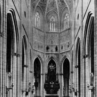 Собор в Упсале. Основное строительство в 13 - середине 15 века. Внутренний вид