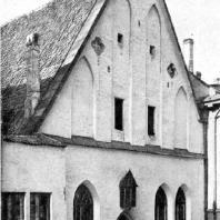Здание Большой гильдии в Таллине. Около 1410 г. Фасад