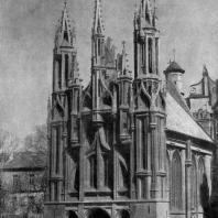 Костел св. Анны в Вильнюсе. Середина 16 в. Вид с юго-запада