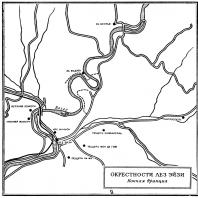 Карта: Окрестности Лез Эйзи