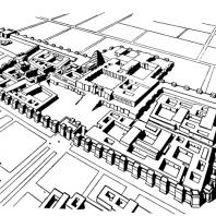 Дворец Саргона II в Дур-Шаррукине. Реконструкция
