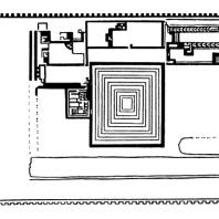 Усыпальница фараона Джосера. План